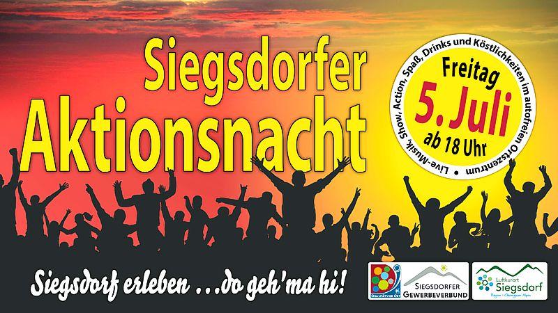 Siegsdorfer Aktionsnacht 2019