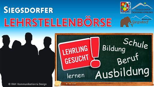 Siegsdorfer Lehrstellenbörse