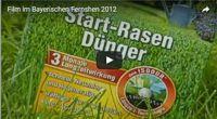 Rasen-Dünger, ein Mitglied im Fernsehen